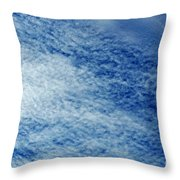 Grainy Sky Throw Pillow