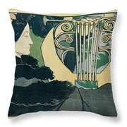 Gran Teatre Del Liceu Throw Pillow