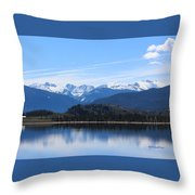 Granby Lake Throw Pillow