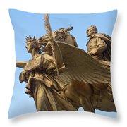 Grand Army Plaza 4 Throw Pillow