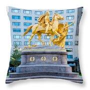Grand Army Plaza 5 Throw Pillow