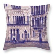 Grand Canal 2. Venice Italy Throw Pillow