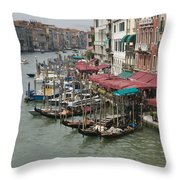 Grand Canal 4261 Throw Pillow