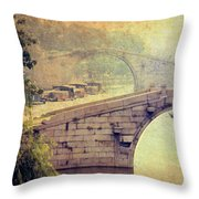 Grand Canal Bridge Suzhou Throw Pillow