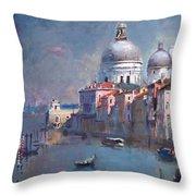 Grand Canal Venice Throw Pillow