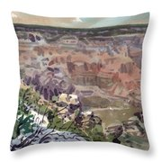Grand Canyon 08 Throw Pillow