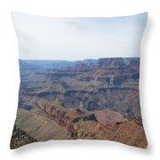 Grand Canyon 10 Throw Pillow