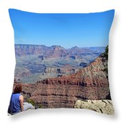 Grand Canyon 14 Throw Pillow