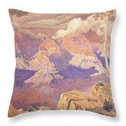 Grand Canyon, 1927  Throw Pillow
