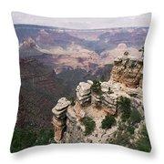 Grand Canyon 4 Throw Pillow