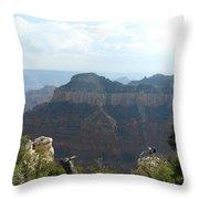 Grand Canyon 8 Throw Pillow