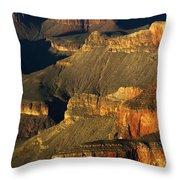 Grand Canyon Arizona Light And Shadow 1 Throw Pillow