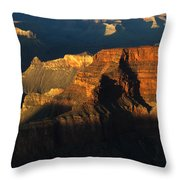 Grand Canyon Arizona Light And Shadow 2 Throw Pillow