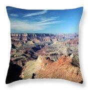 Grand Canyon Evening Light Throw Pillow