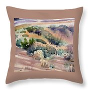 Grand Canyon Flora Study 77 Throw Pillow