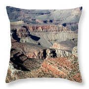 Grand Canyon Greatness Throw Pillow
