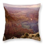 Grand Canyon In The Spring Throw Pillow