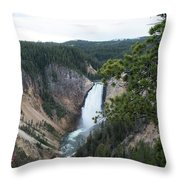 Grand Canyon In Wyoming Throw Pillow
