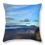 Grand Canyon Moonrise Throw Pillow