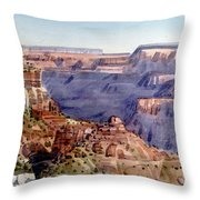 Grand Canyon Morning Throw Pillow