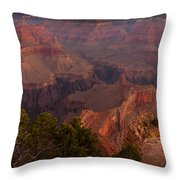 Grand Canyon Morning Light Throw Pillow