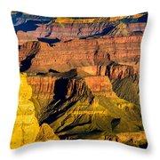Grand Canyon Morning Light Throw Pillow