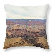Grand Canyon No 2 Throw Pillow