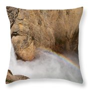 Grand Canyon Of The Yellowstone II Throw Pillow