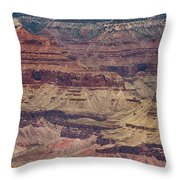 Grand Canyon Orphan Mine Throw Pillow by Susan Rissi Tregoning