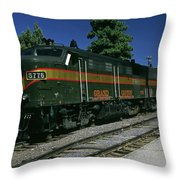 Grand Canyon Railway Train Throw Pillow
