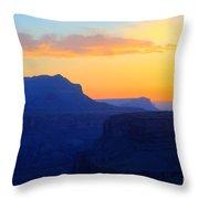 Grand Canyon Sunrise At Toroweap Throw Pillow