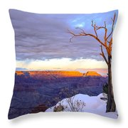 Grand Canyon Sunset Throw Pillow