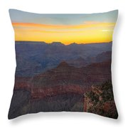 Grand Canyon Twilght Throw Pillow