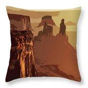Grand Canyon - Usa Throw Pillow