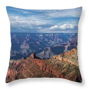 Grand Canyon View 1 Throw Pillow