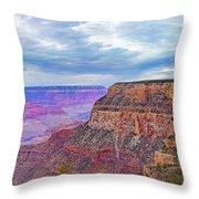 Grand Canyon Village Panorama Throw Pillow