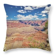 Grand Canyon Vista 14 Throw Pillow