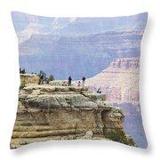 Grand Canyon Vista Throw Pillow