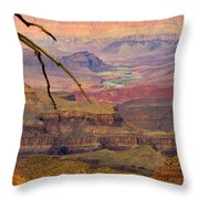 Grand Canyon Vista Throw Pillow