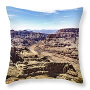 Grand Canyon West Rim Throw Pillow
