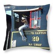 Grand Canyon2 Throw Pillow