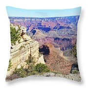 Grand Canyon21 Throw Pillow