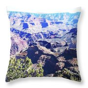 Grand Canyon23 Throw Pillow