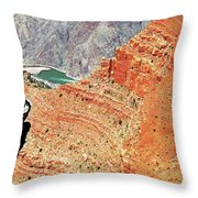 Grand Canyon36 Throw Pillow