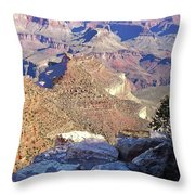 Grand Canyon8 Throw Pillow