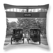 Grand Carriages Throw Pillow