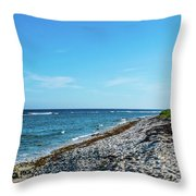 Grand Cayman Island Caribbean Sea 2 Throw Pillow
