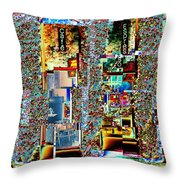 Grand Central Bakery 1 Throw Pillow