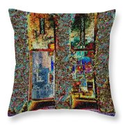 Grand Central Bakery Mosaic Throw Pillow