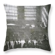 Grand Central Station, New York City, 1925 Throw Pillow